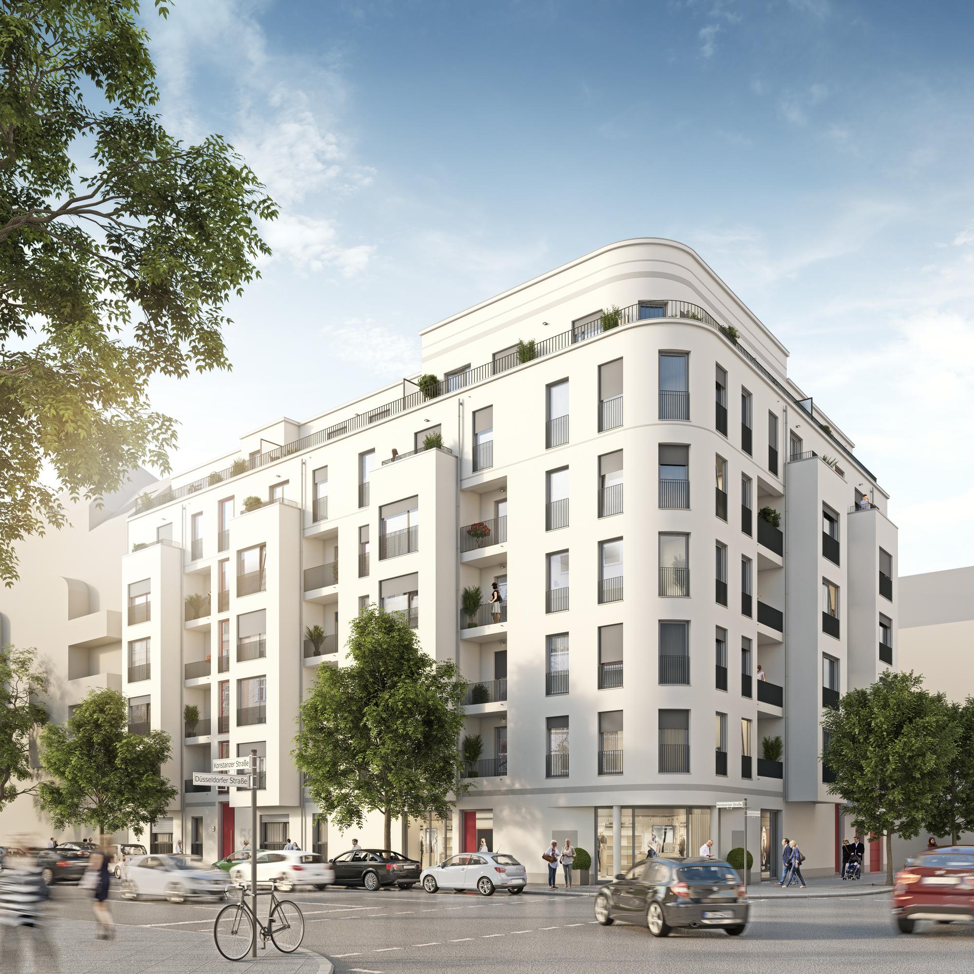 K58 konstanzer stra e a6 architekten for Mehrfamilienhaus berlin